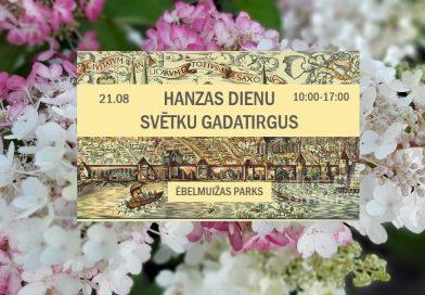 Rīgā Hanzas dienu svētku gadatirgus
